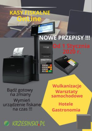 plakat systemy kasy online